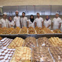 گزارش تصویری از کارگاه مجهز شیرینی سرای عبدالرضا