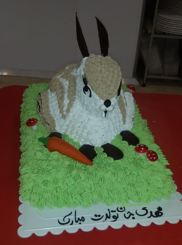 کیک تولد خرگوشی